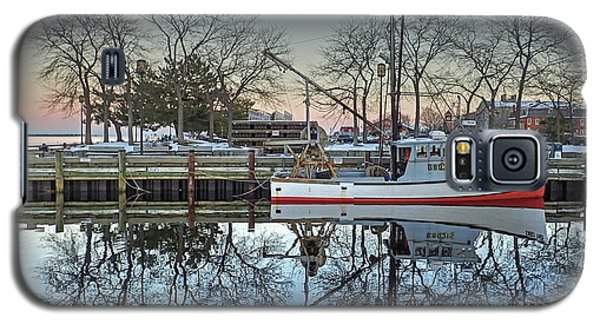 Fishing Boat At Newburyport Galaxy S5 Case