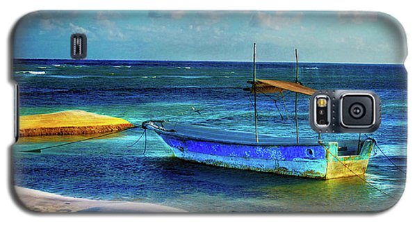 Fishing Boat At Rest Galaxy S5 Case