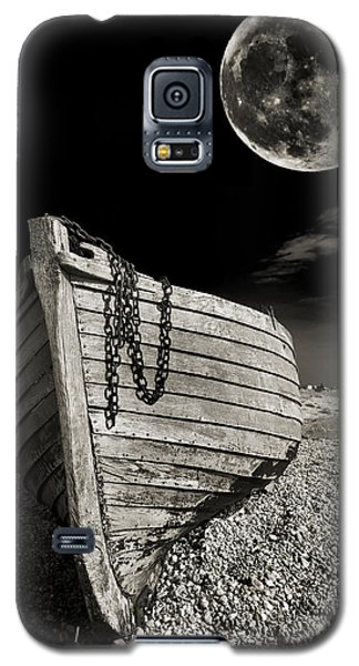 Moon Galaxy S5 Cases - Fishing Boat Graveyard 3 Galaxy S5 Case by Meirion Matthias