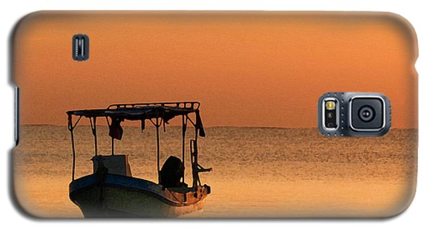 Fishing Boat In Waiting Galaxy S5 Case