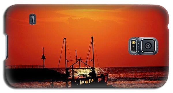 Fishing Boat Galaxy S5 Case