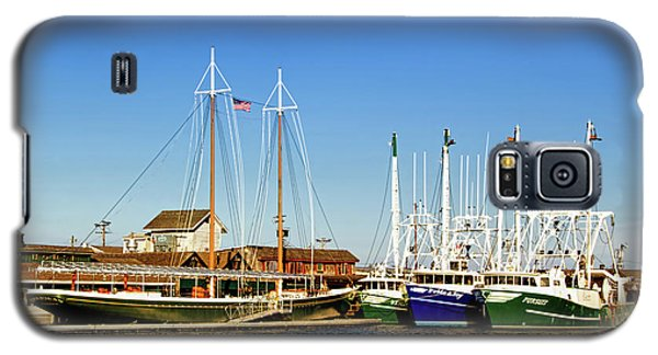 Fishing Boats In Cape May Harbor Galaxy S5 Case