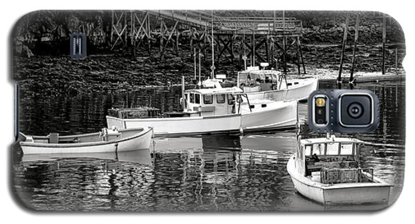 Galaxy S5 Case featuring the photograph Fishing Boats In Maine Port by Olivier Le Queinec