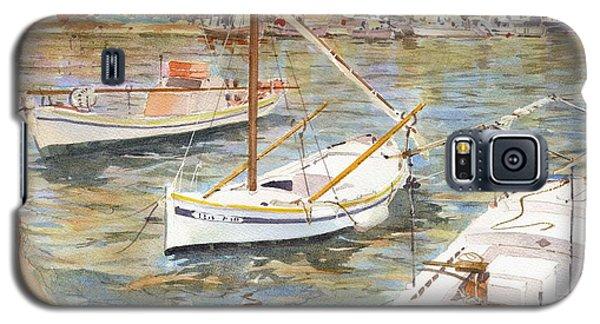 Fishing Boats In Skopelos Galaxy S5 Case