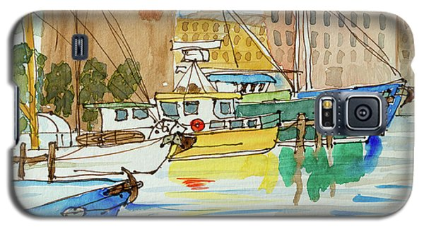Fishing Boats In Hobart's Victoria Dock Galaxy S5 Case