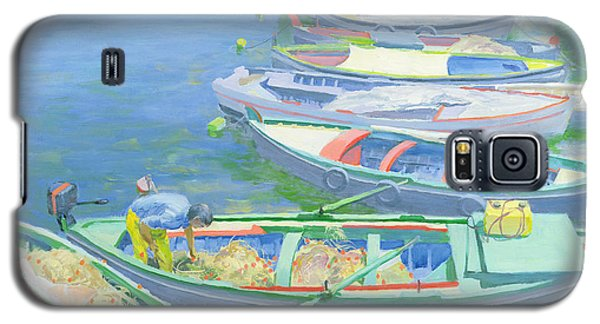 Boat Galaxy S5 Case - Fishing Boats by William Ireland