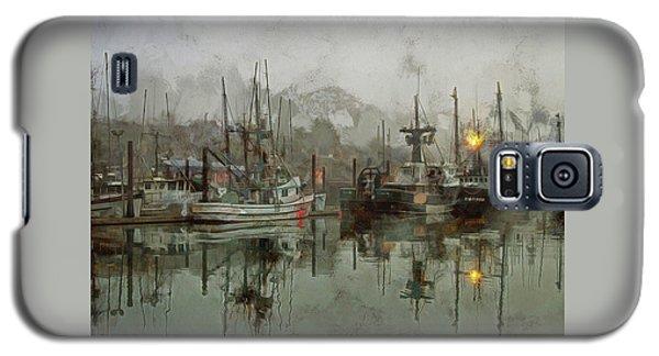 Fishing Fleet Dock Five Galaxy S5 Case