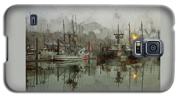 Fishing Fleet Dock Five Galaxy S5 Case
