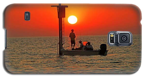 Fishing In Lacombe Louisiana Galaxy S5 Case by Luana K Perez