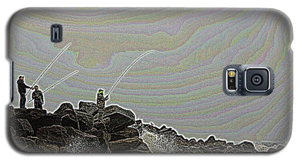 Fishing In The Twilight Zone Galaxy S5 Case
