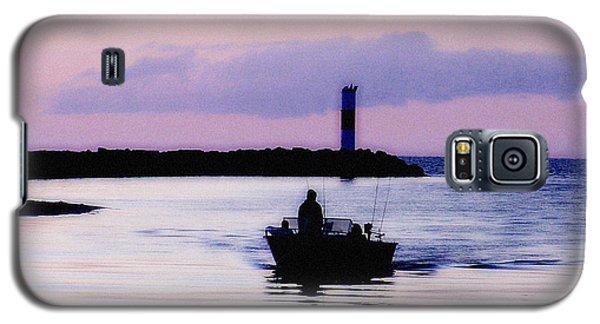 Fishing Lake Ontario  Lake Ontario  Galaxy S5 Case by Iconic Images Art Gallery David Pucciarelli