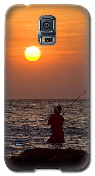 Fishing Lido Beach Galaxy S5 Case