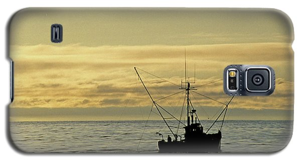 Fishing Off Santa Cruz Galaxy S5 Case