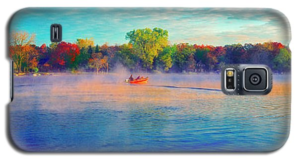 Fishing On Crystal Lake, Il., Sport, Fall Galaxy S5 Case