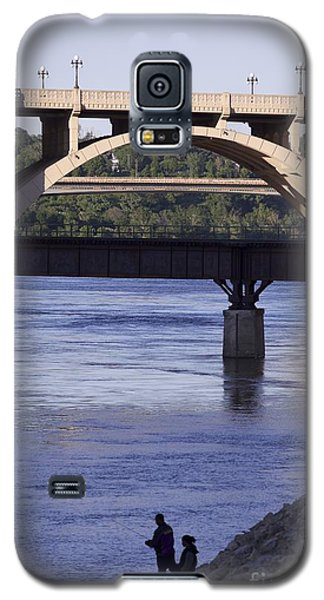 Fishing On The Mississippi River Galaxy S5 Case