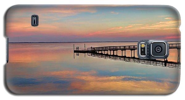 Fishing Pier Duck Obx Galaxy S5 Case