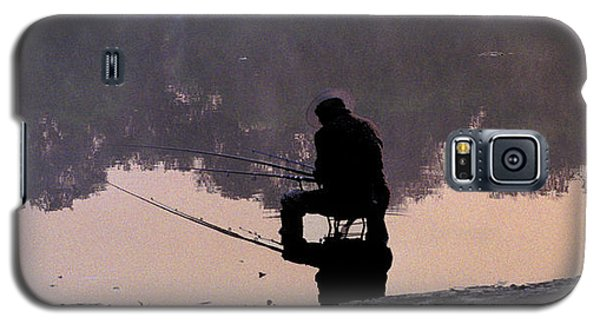 Galaxy S5 Case featuring the photograph Fishing by R Thomas Berner