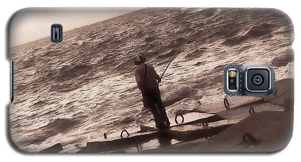 Men Fishing, Alexandria, Egypt Galaxy S5 Case