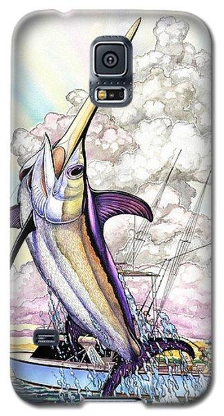 Fishing Swordfish Galaxy S5 Case