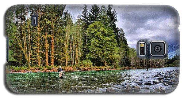 Fishing The Run Galaxy S5 Case