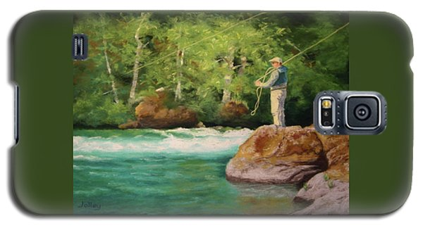 Fishing The Umpqua Galaxy S5 Case