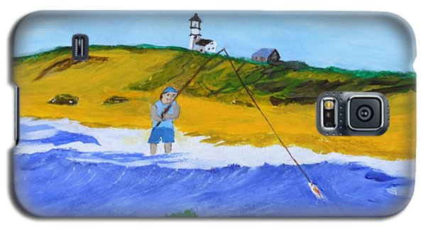 Fishing Under Highland Light Galaxy S5 Case
