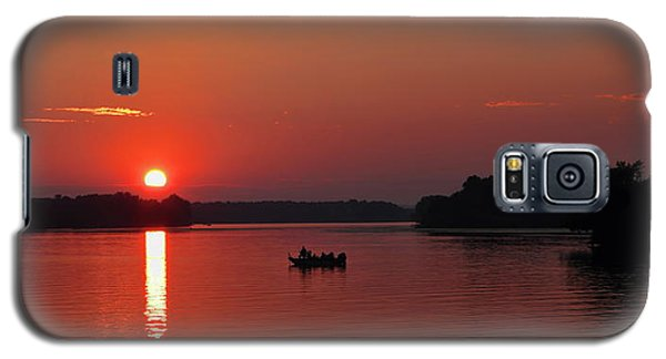 Fishing Until Sunset Galaxy S5 Case