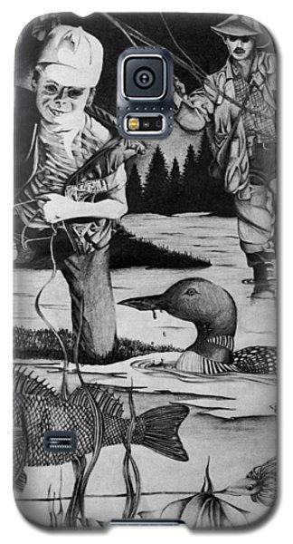 Fishing Vacation Galaxy S5 Case