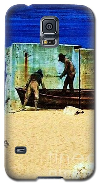 Fishing Galaxy S5 Case by Vanessa Palomino
