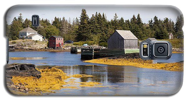 Fishing Village In Nova Scotia Galaxy S5 Case