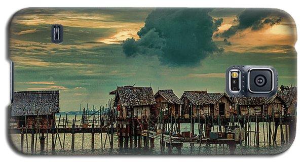 Fishing Village Galaxy S5 Case