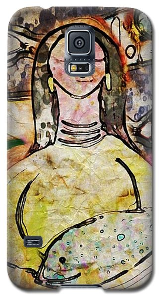 Galaxy S5 Case featuring the digital art Fishmonger's Wife by Alexis Rotella