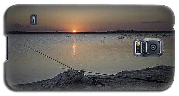 Fishing Poles Galaxy S5 Case by Leticia Latocki