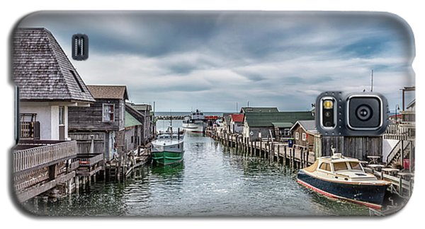 Galaxy S5 Case featuring the photograph Fishtown Michigan In Leland by John McGraw
