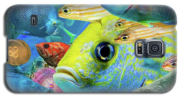 Fishy Collage 02 Galaxy S5 Case