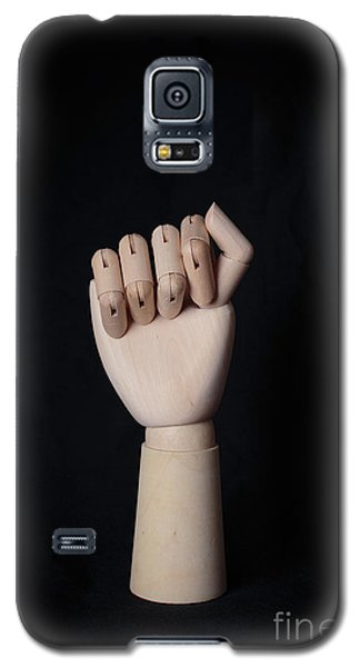 Galaxy S5 Case featuring the photograph Fist by Edward Fielding