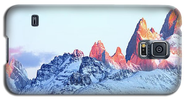 Galaxy S5 Case featuring the photograph Fitz Roy Peak by Phyllis Peterson