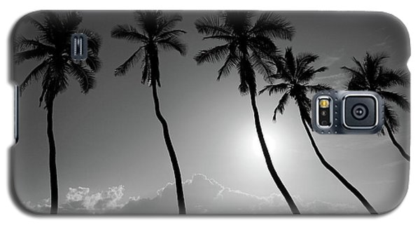 Five Coconut Palms Galaxy S5 Case