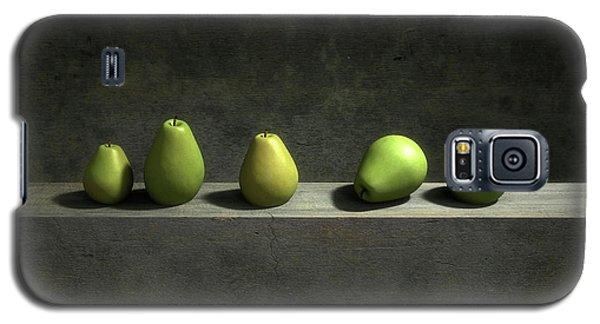 Still Life Galaxy S5 Case - Five Pears by Cynthia Decker