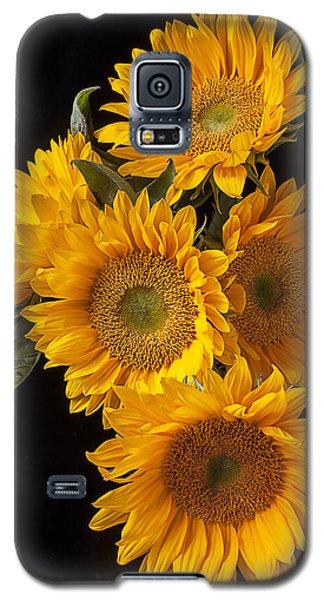 Five Sunflowers Galaxy S5 Case