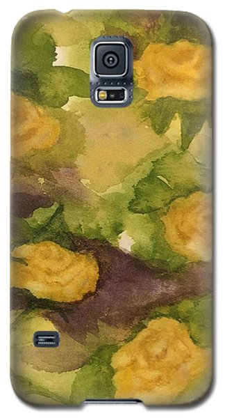 Five Yellow Roses Galaxy S5 Case