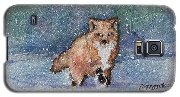 Fox In Snow Galaxy S5 Case