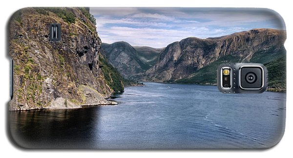 Galaxy S5 Case featuring the photograph Fjord by Jim Hill