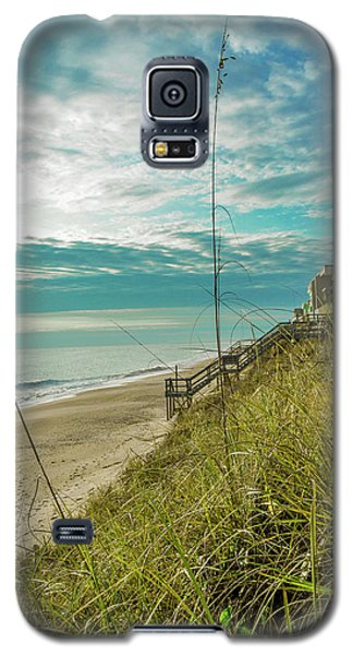 St Aug Beach Galaxy S5 Case by Josy Cue