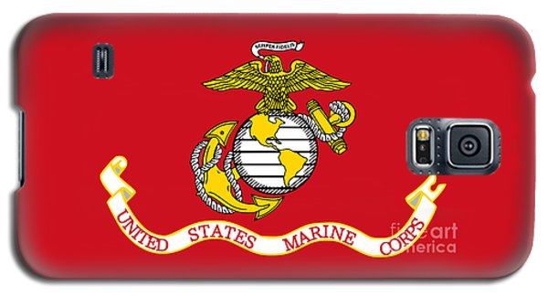 Flag Of The United States Marine Corps Galaxy S5 Case by Pg Reproductions