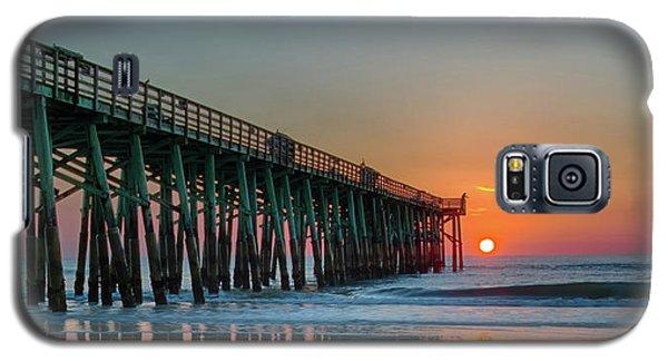 Flagler Pier Sunrise Galaxy S5 Case