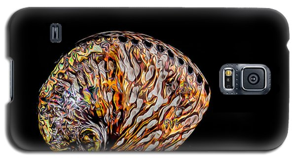Galaxy S5 Case featuring the photograph Flame Abalone by Rikk Flohr