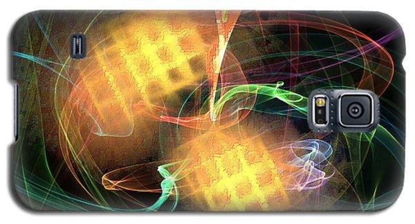 Galaxy S5 Case featuring the digital art Flame Art 2 by Maciek Froncisz