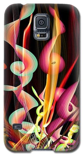 Flame By Nico Bielow Galaxy S5 Case