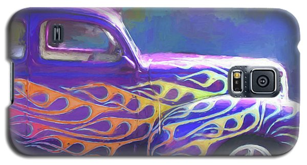 Flamed 1940 Ford Galaxy S5 Case